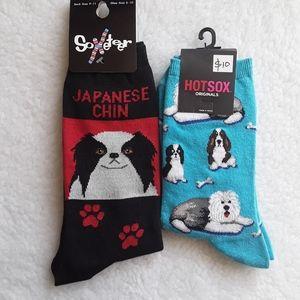 🐾 Japanese Chin Socks